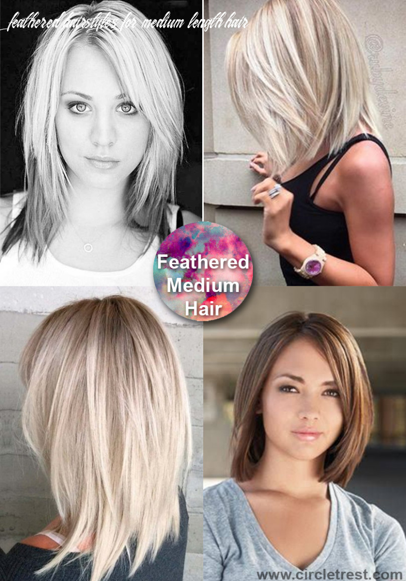 9 trendy medium hairstyles for women of all ages – circletrest feathered hairstyles for medium length hair