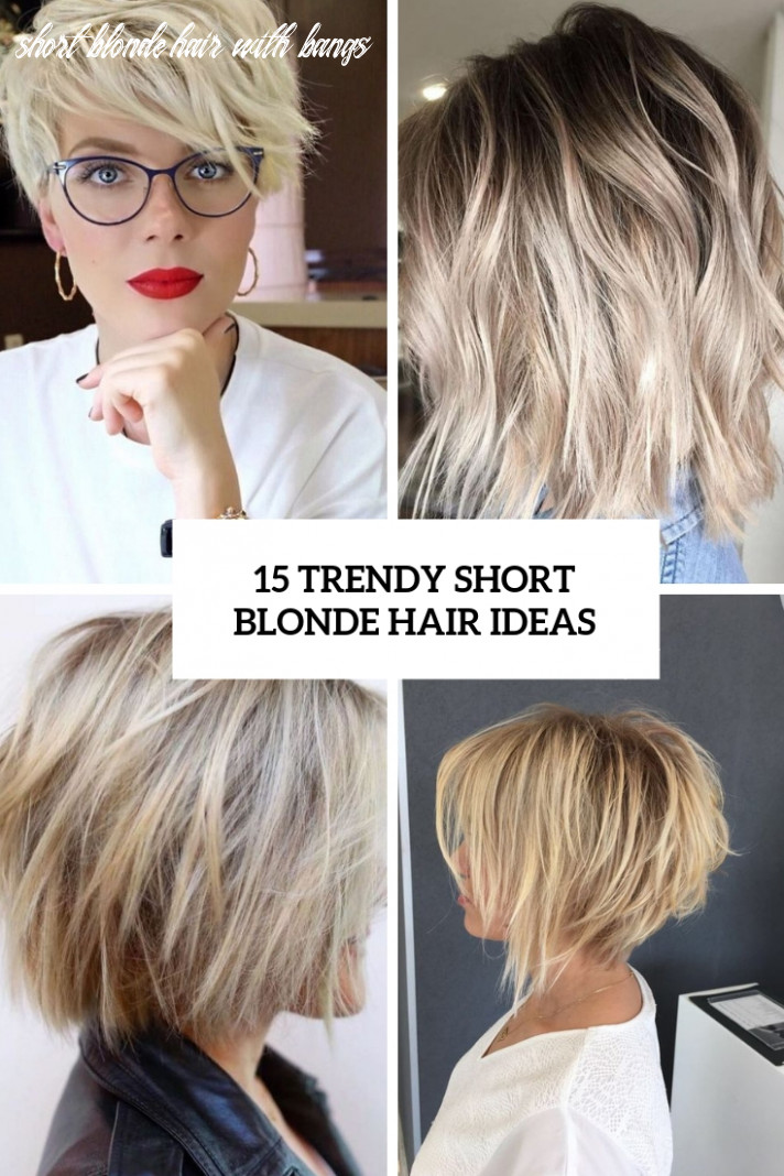 9 trendy short blonde hair ideas styleoholic short blonde hair with bangs