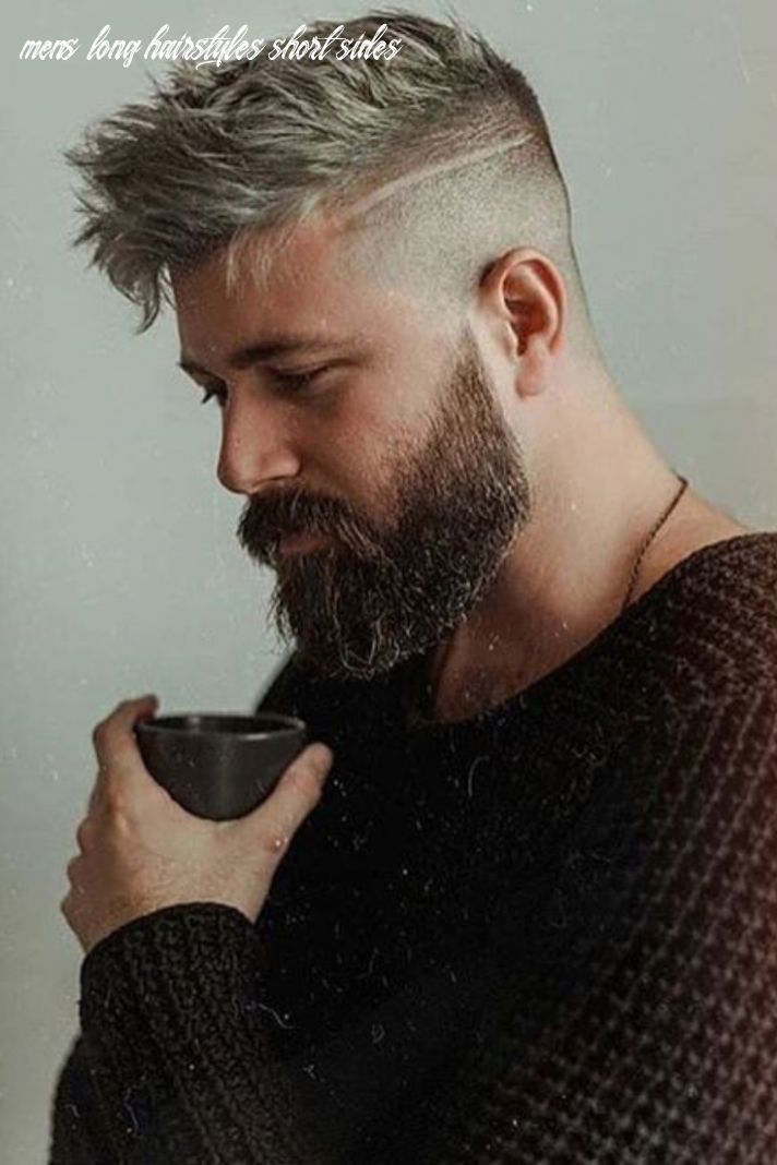 9 trendy short sides long top hairstyles in 9 | mens