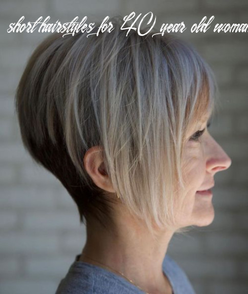 9 unbeatable haircuts for women over 9 to take on board in 9 short hairstyles for 40 year old woman 2020
