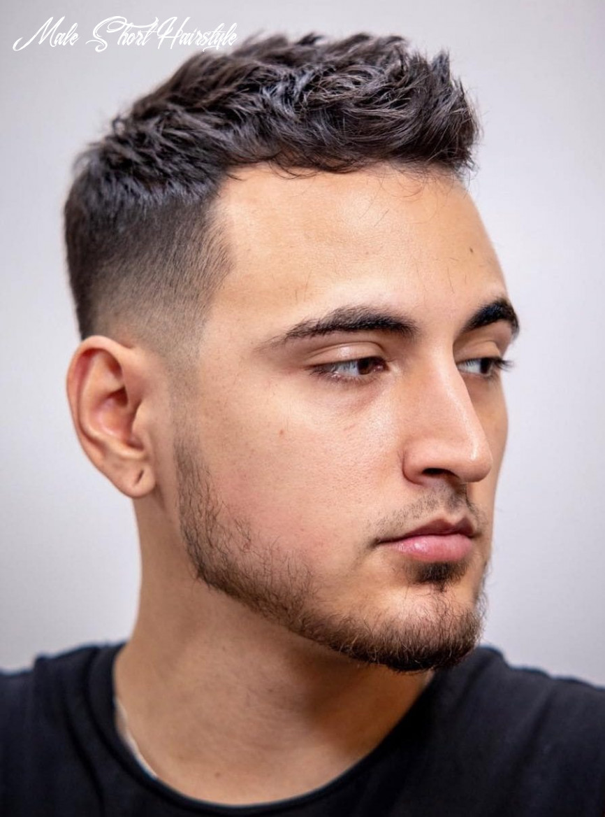 9 unique short hairstyles for men styling tips male short hairstyle