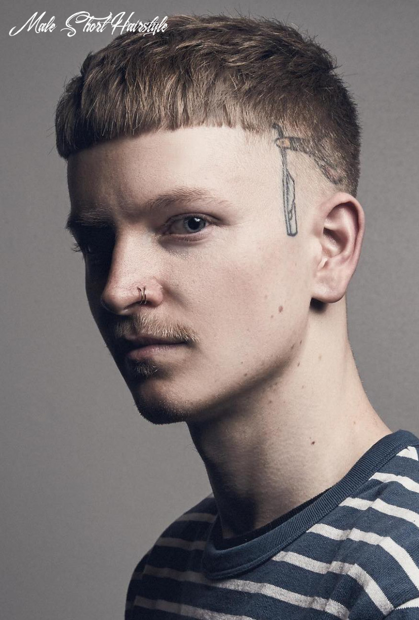 9 Unique Short Hairstyles for Men + Styling Tips