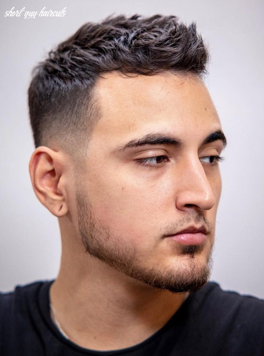 9 unique short hairstyles for men styling tips short guy haircuts