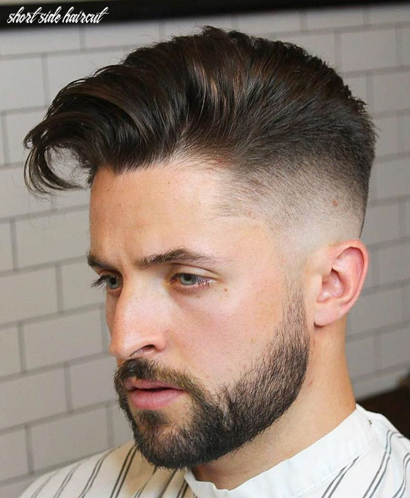 9 unique short hairstyles for men styling tips short side haircut