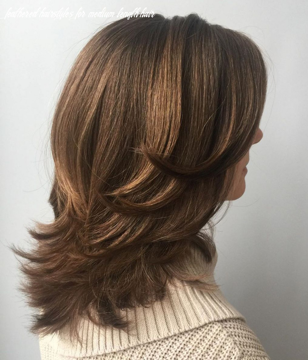 9 upgraded feathered hair cuts that are trendy in 9 hair adviser feathered hairstyles for medium length hair