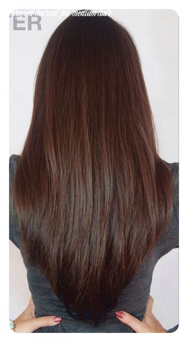 9 v cut and u cut hairstyles to give you the right angle v shaped haircut for medium hair