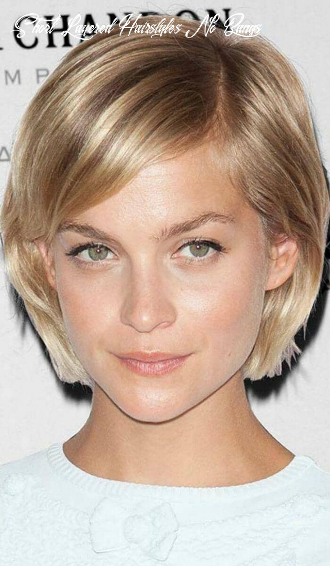 9 ways to wear short hair with bangs for a fresh new look short layered hairstyles no bangs