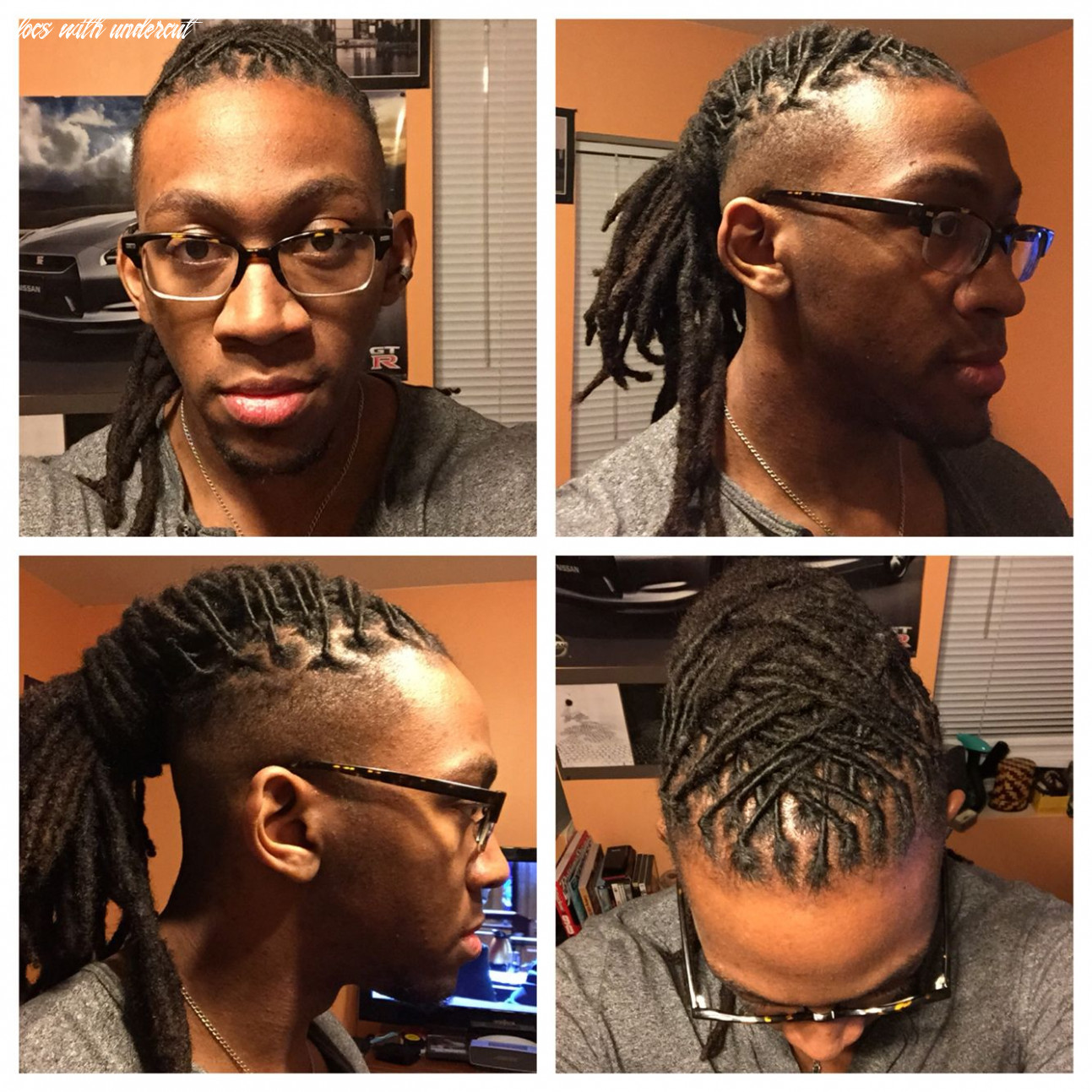 A cool take on a dreadlock ponytail undercut | Beautiful ...