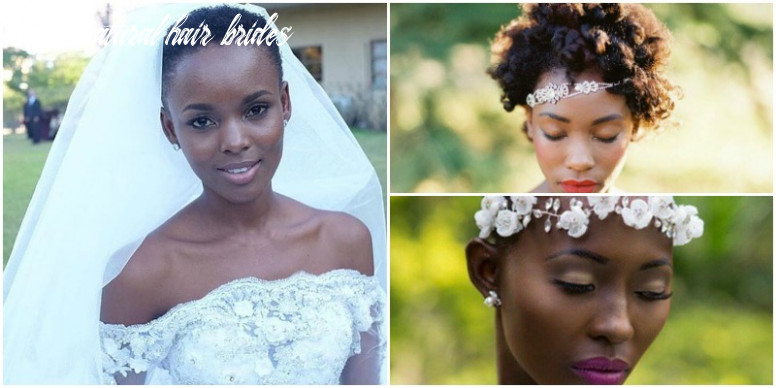 A twa for your wedding day short natural hair brides