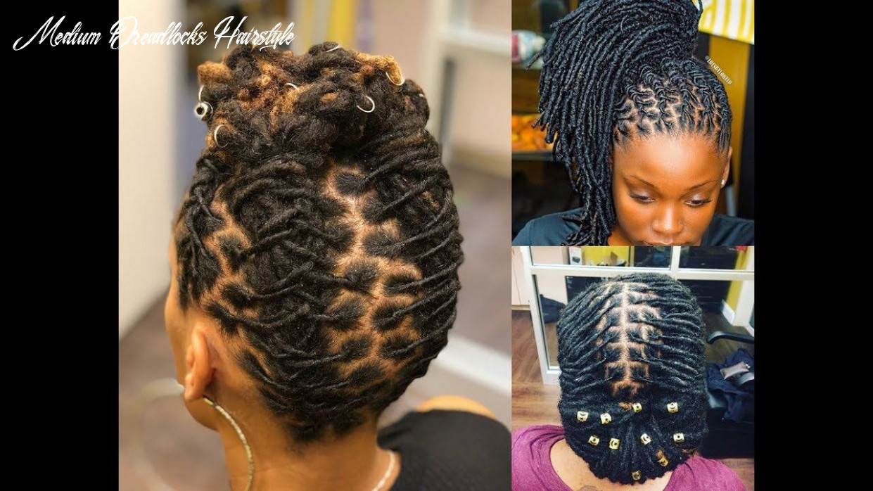 African locs styles : 8 hairstyles for short, medium and long