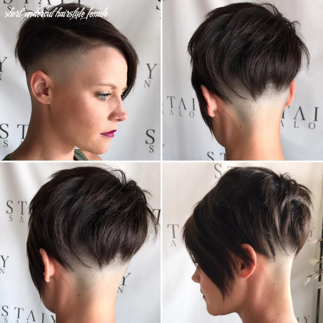 All sizes | brunette choppy asymmetrical undercut pixie | flickr