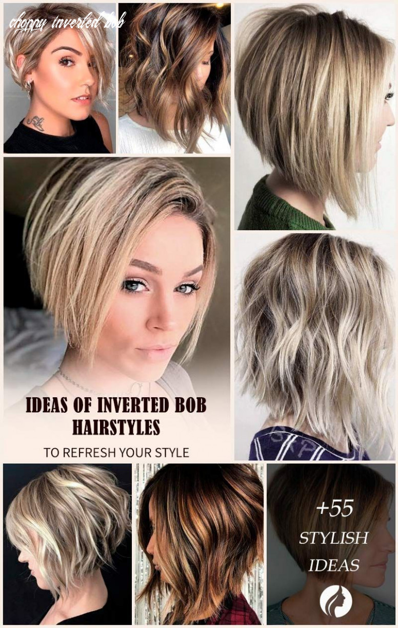 All the inverted bob hairstyles: stacked, choppy, short, curly
