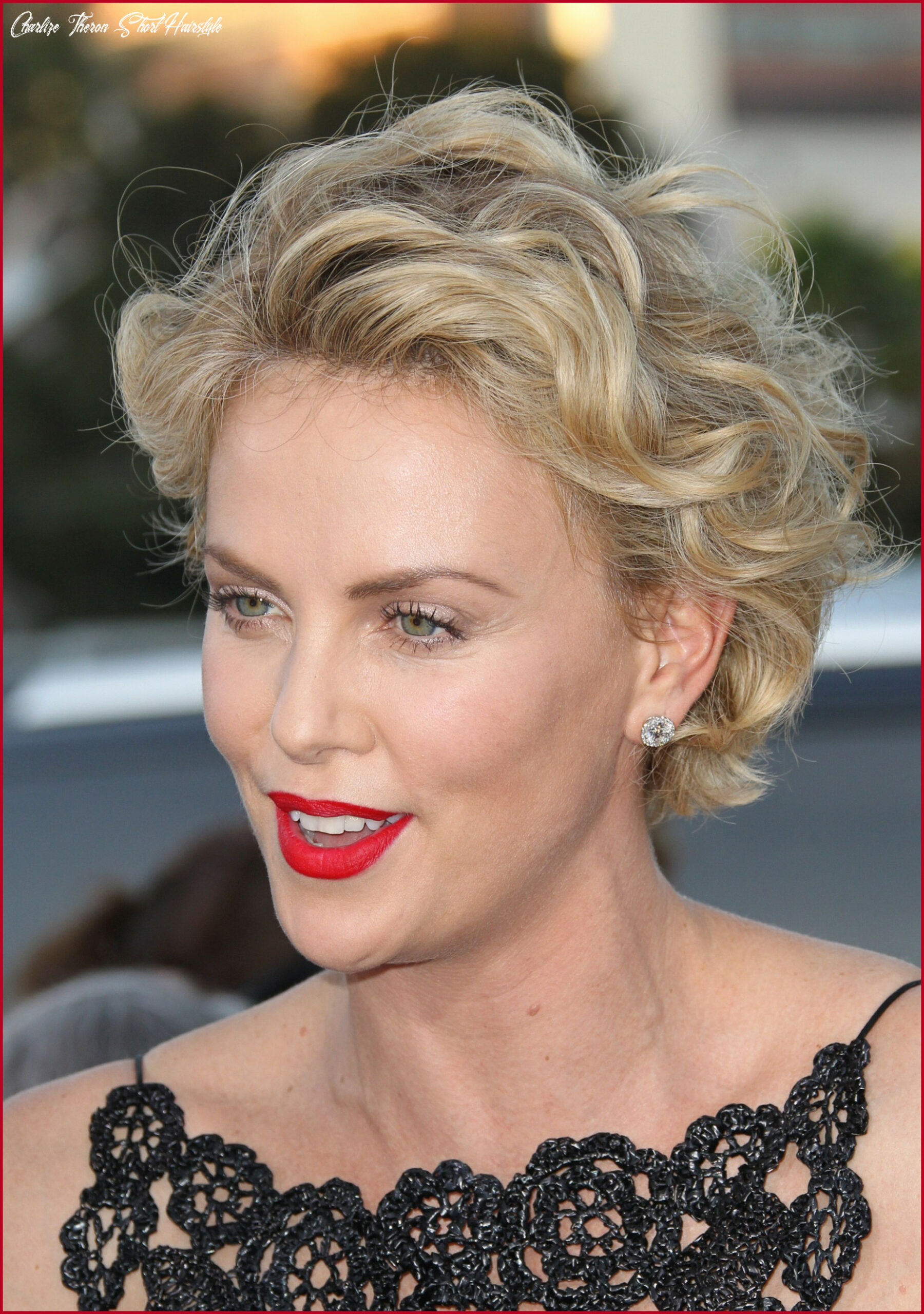 Amazing charlize theron short hairstyles collection of hairstyles