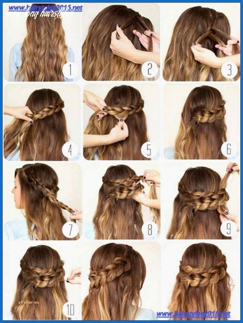 Amazing cute easy hairstyles for long hair   very easy hairstyles