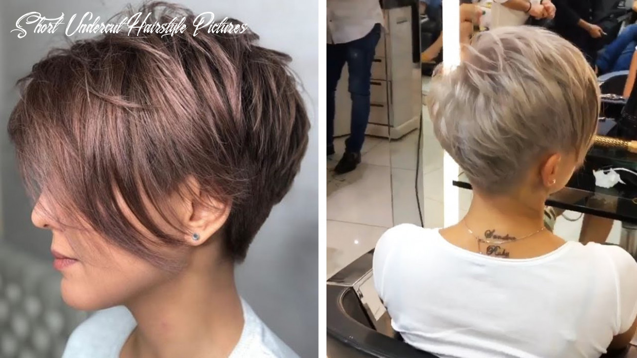 Amazing Feathered Pixie with Nape Undercut 10 | Love Pixie Haircut |  Hottest Haircut Compilation