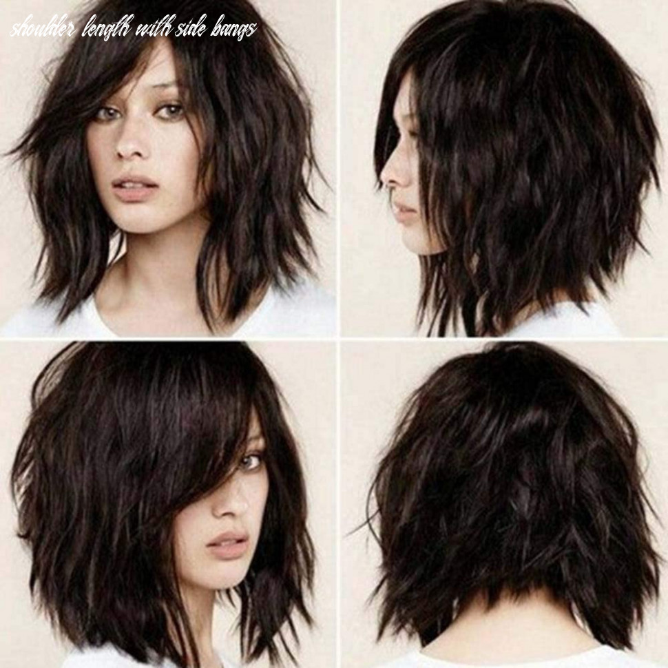 Amazon com: ly11 short bob wavy wig with side bangs shoulder length