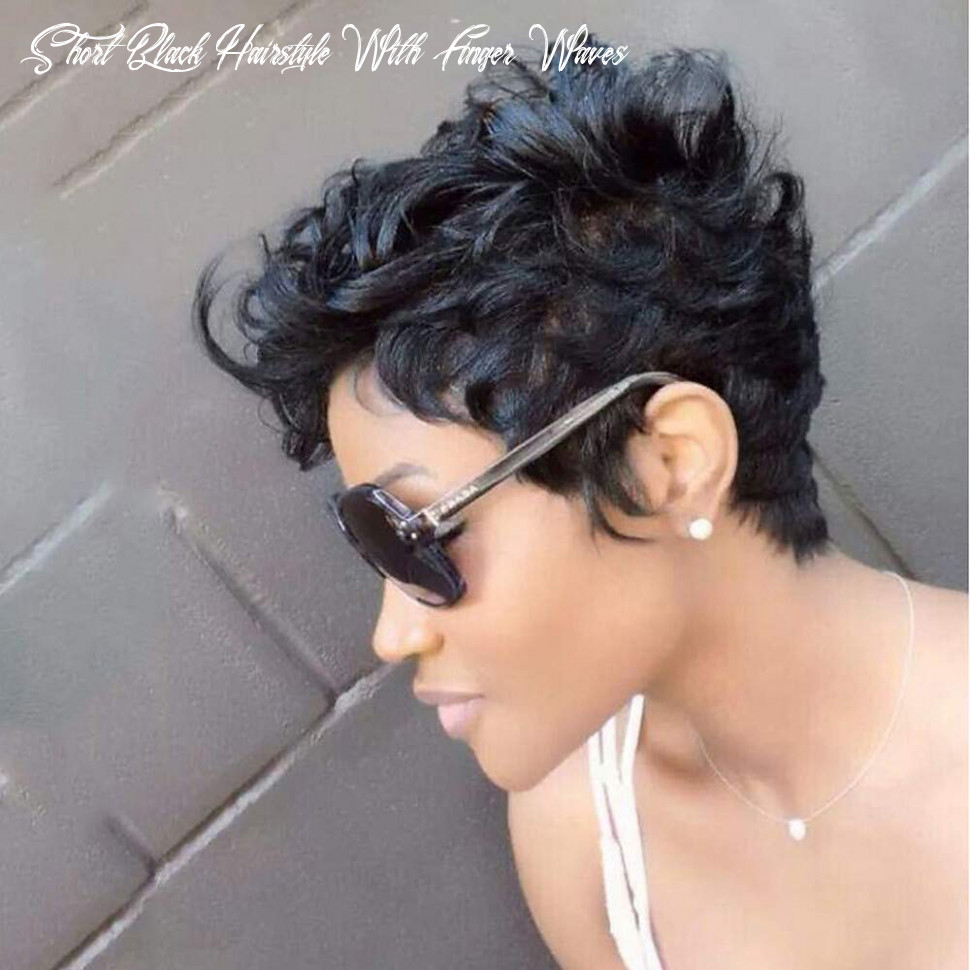 Amazon com: show time:black short hairstyles finger waves