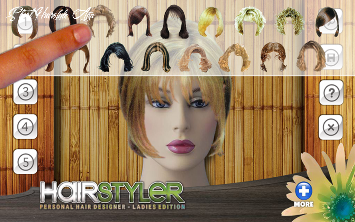 Amazon com: virtual hairstyler style creator (kindle tablet