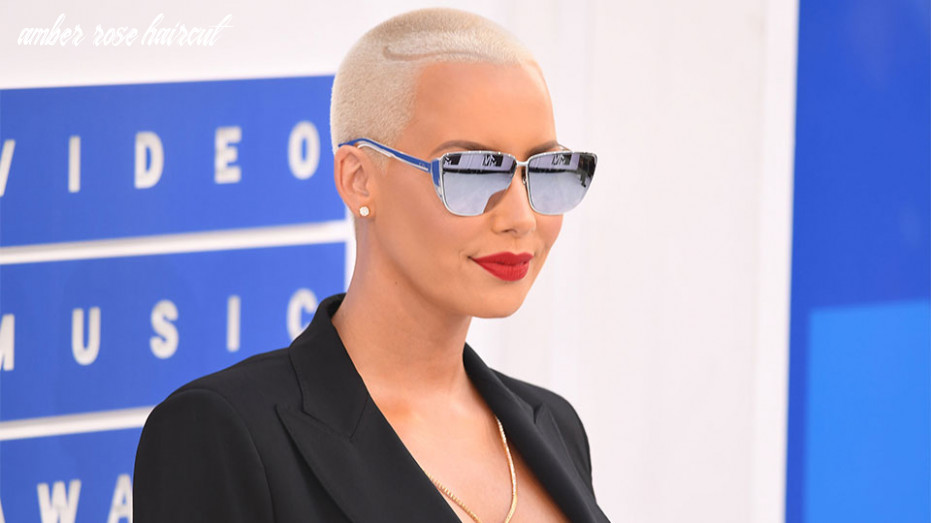 Amber rose is growing out her buzz cut | stylecaster amber rose haircut