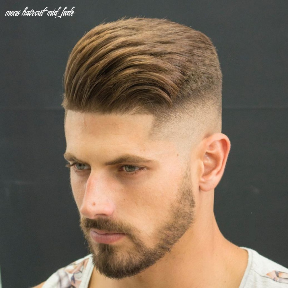 Appealing mid fade haircut cool get confidence men hairstyle mid
