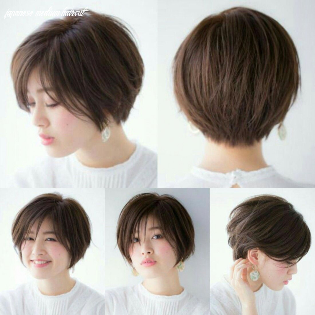 Asian japanese short bob haircut bob pixie crop