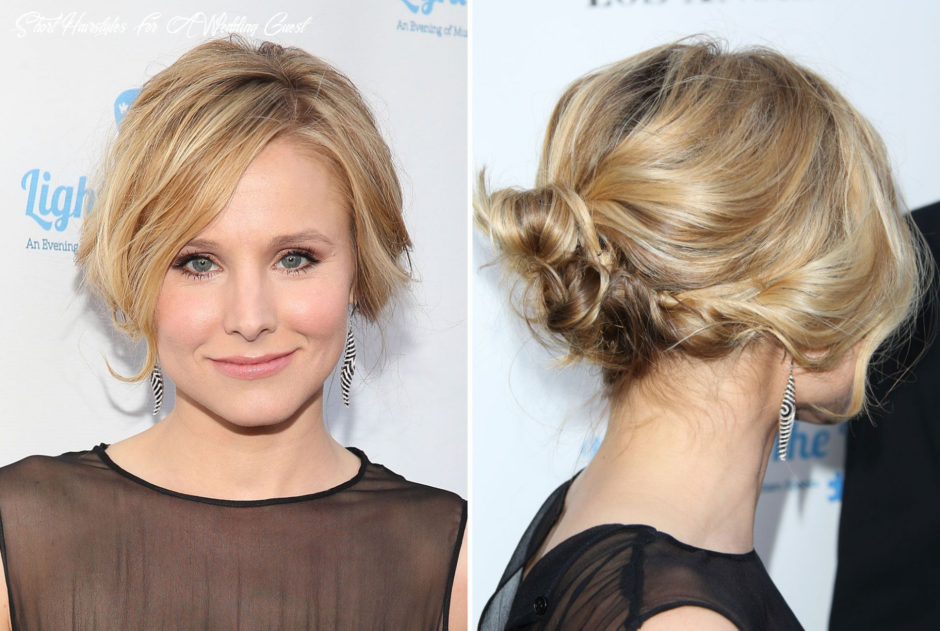 Attractive short hairstyle for wedding guest image result easy