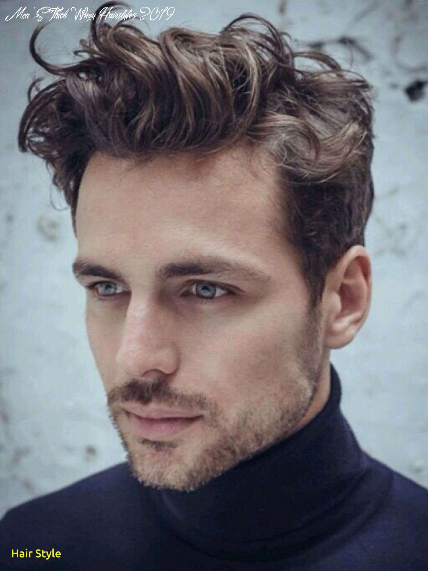 Awesome mens hairstyles for thick wavy hair – artlovers   wavy