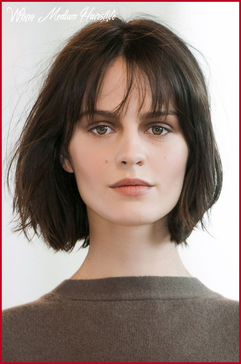 Awesome Short Hairstyles with Wispy Bangs Gallery Of Short ...