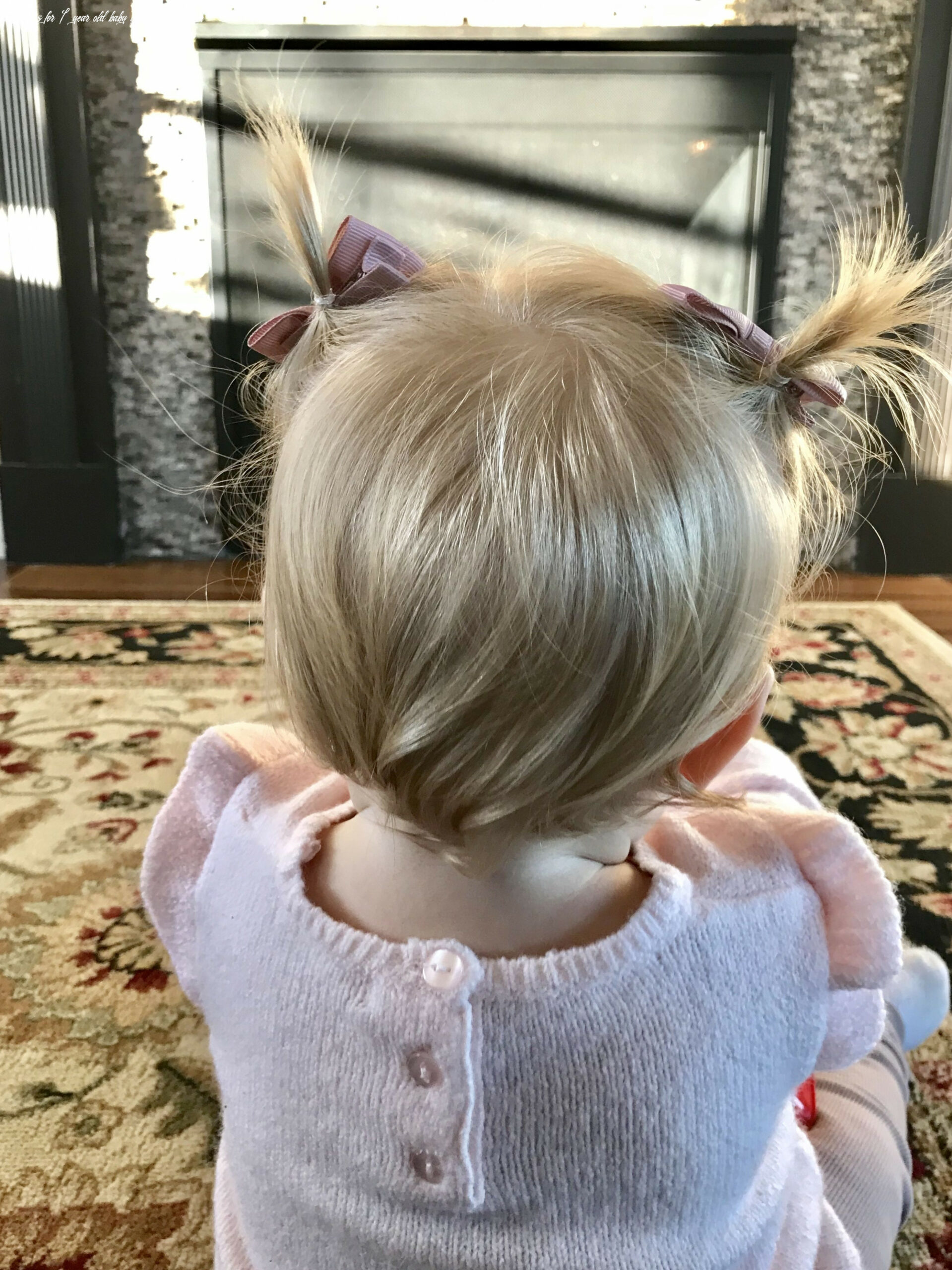 Baby girl hairstyle blonde pigtails short 12 year old | baby girl