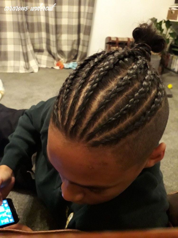 Back to basics faded and braided style | mens braids hairstyles