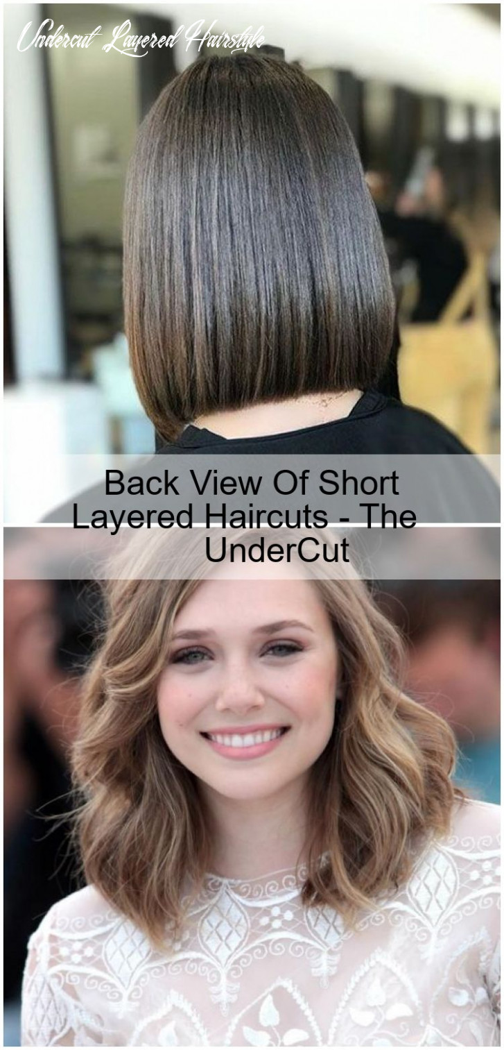 Back view of short layered haircuts the undercut in 10 (mit