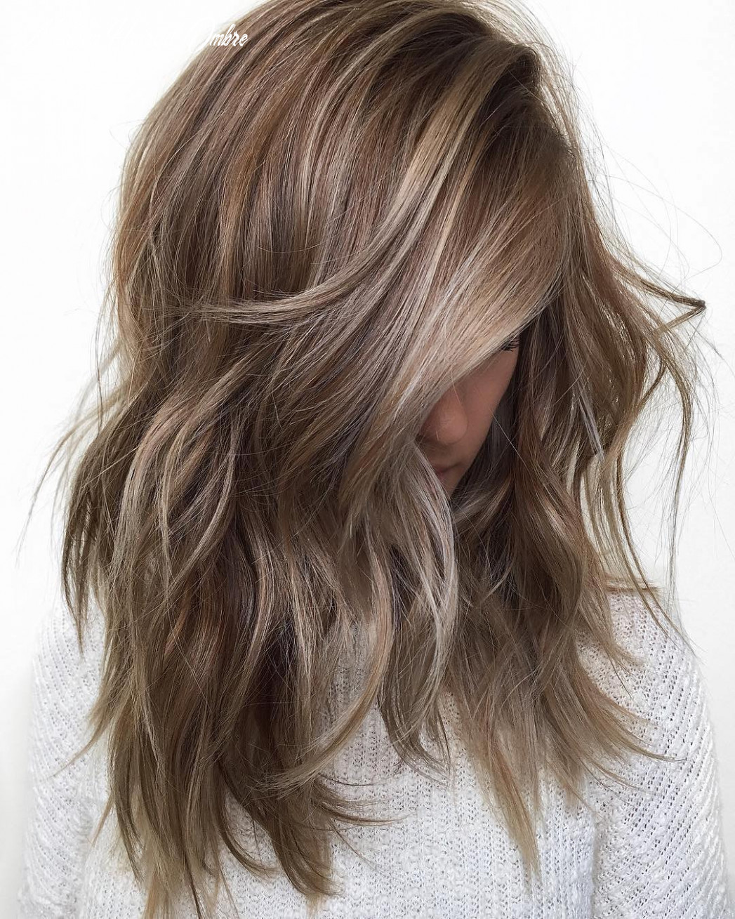 Balayage ombre hair styles for shoulder length hair nicestyles medium haircut ombre