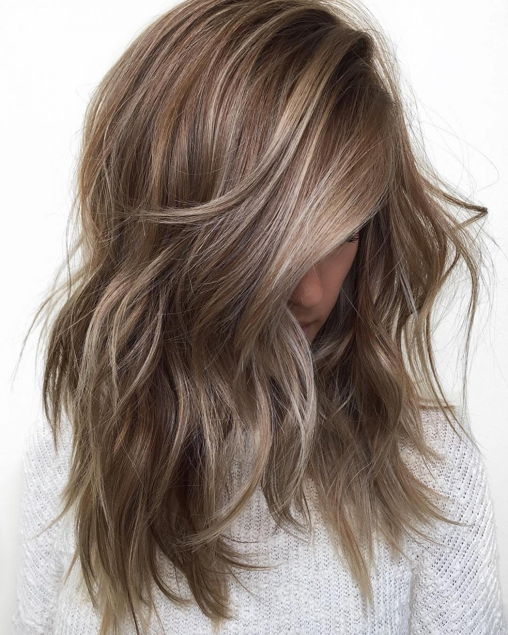 Balayage ombre hair styles for shoulder length hair nicestyles mid length ombre