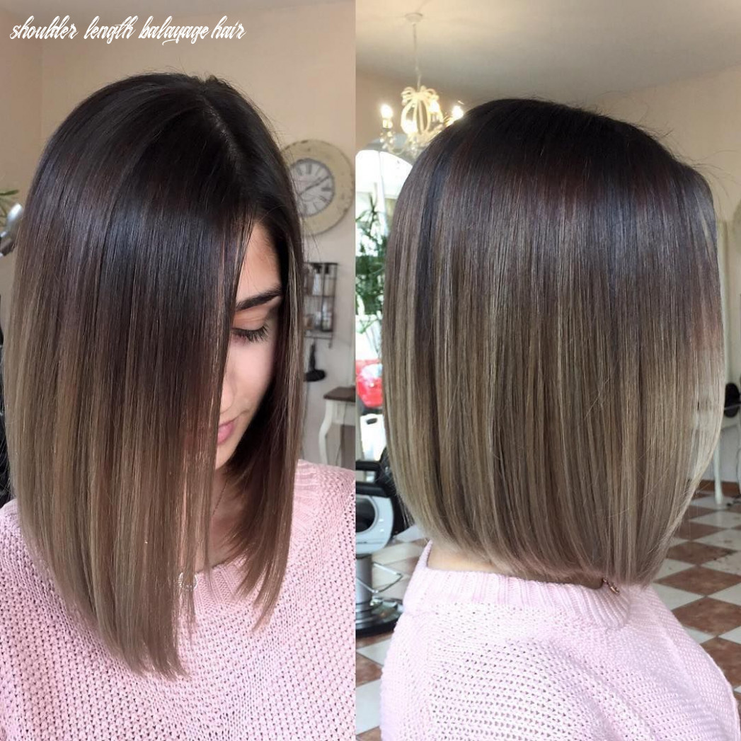 Balayage ombre hair styles for shoulder length hair | ombre hair
