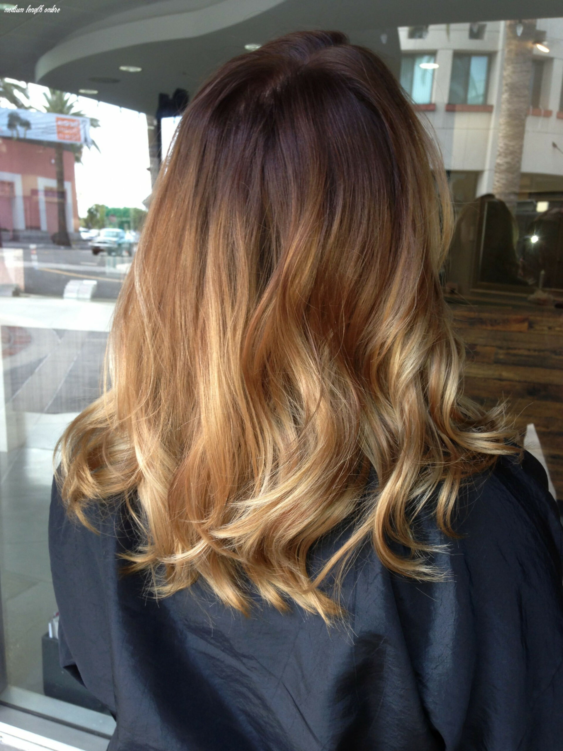 Balayage ombré on shoulder length hair (with images) | medium