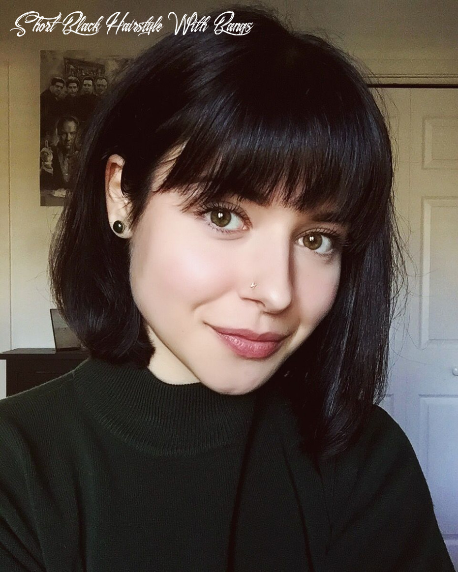 Bangs & short hair | short hair with bangs, medium hair styles