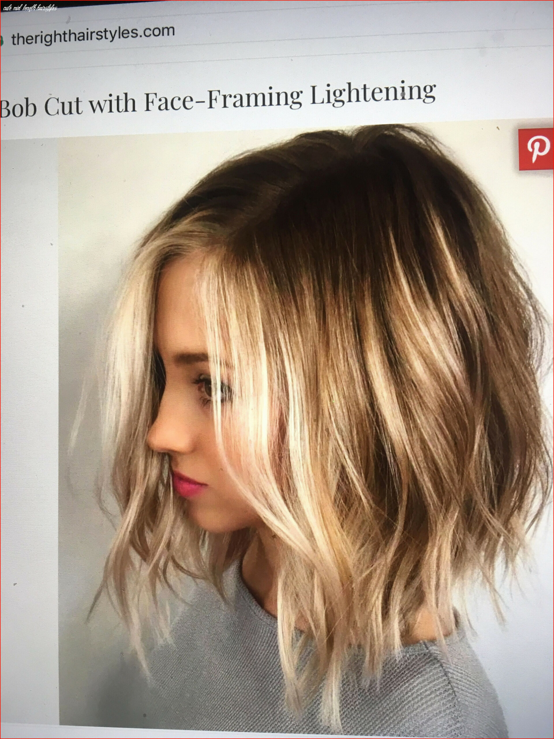 Beautiful cute shoulder length hairstyles collection of hairstyles
