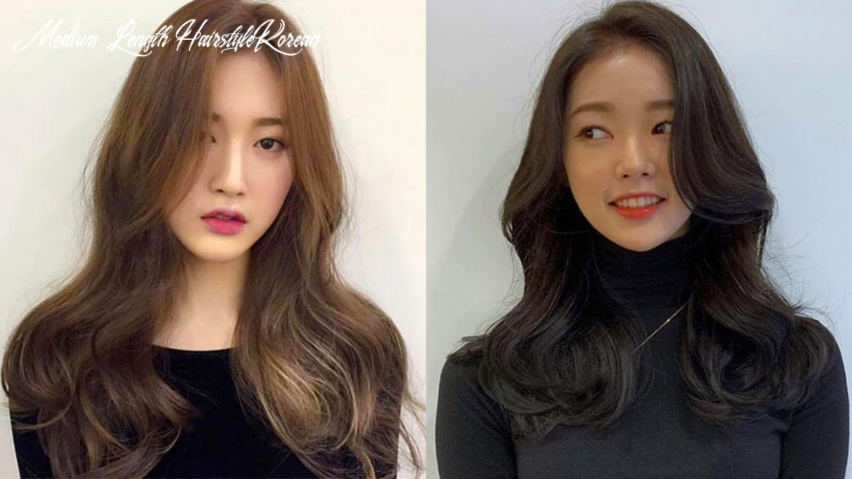 Beautiful korean hairstyles tutorials 🔥 easy cute hair ideas 10 😍 hair beauty medium length hairstyle korean