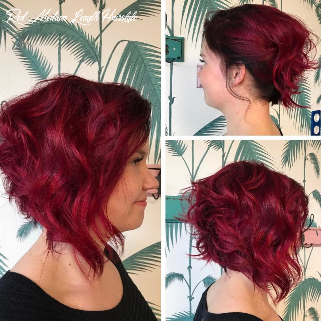 Beautiful medium bob haircuts shoulder length hairstyle for