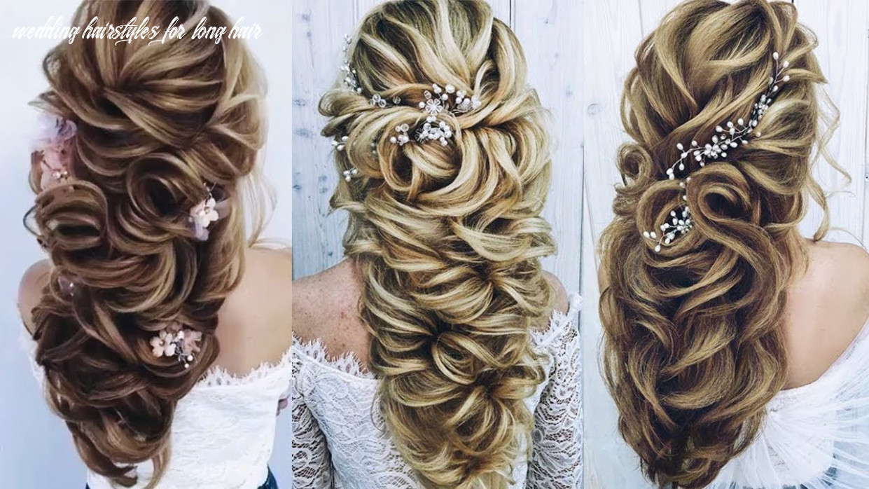 Beautiful wedding hairstyles for long hair 😂😂 professional hairstyles compilation 10 😘😘 wedding hairstyles for long hair