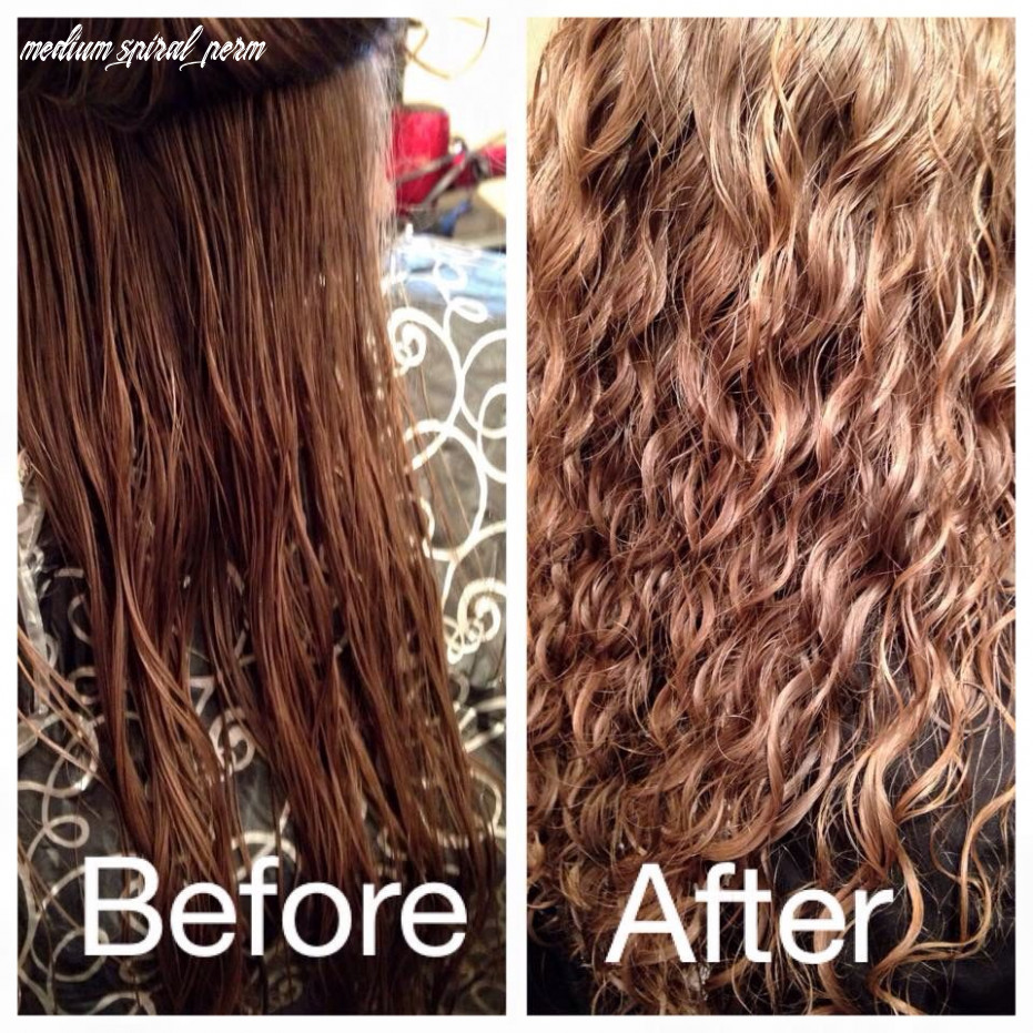 Beautytalkssalon before and after spiral perm | permed hairstyles