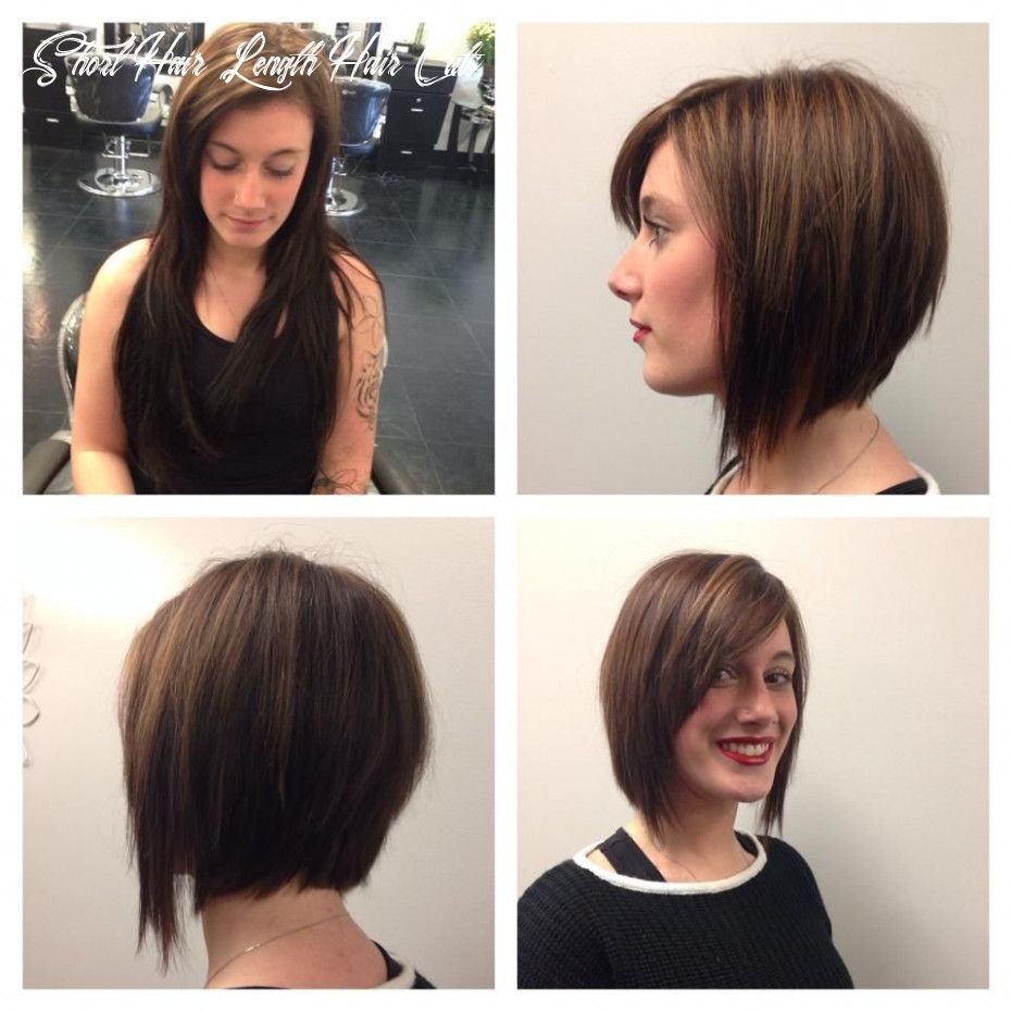 Before and after! long to short hair! done by kevay salon | long