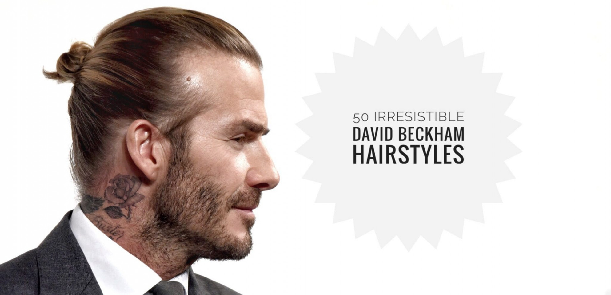Bend it like beckham or at least cut it like him: 8 hairstyles to