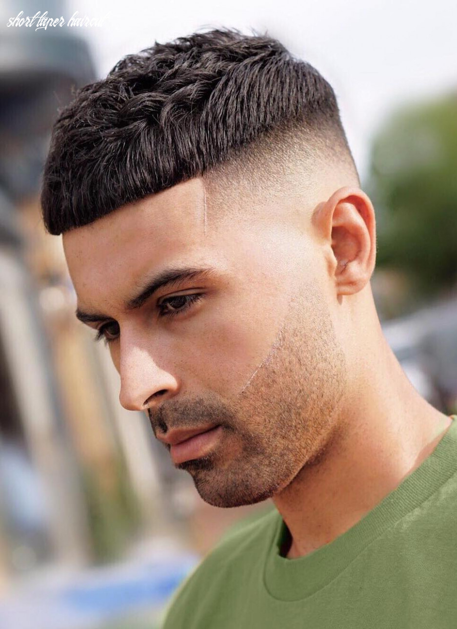 Best 11 low maintenance haircuts for guys short taper haircut