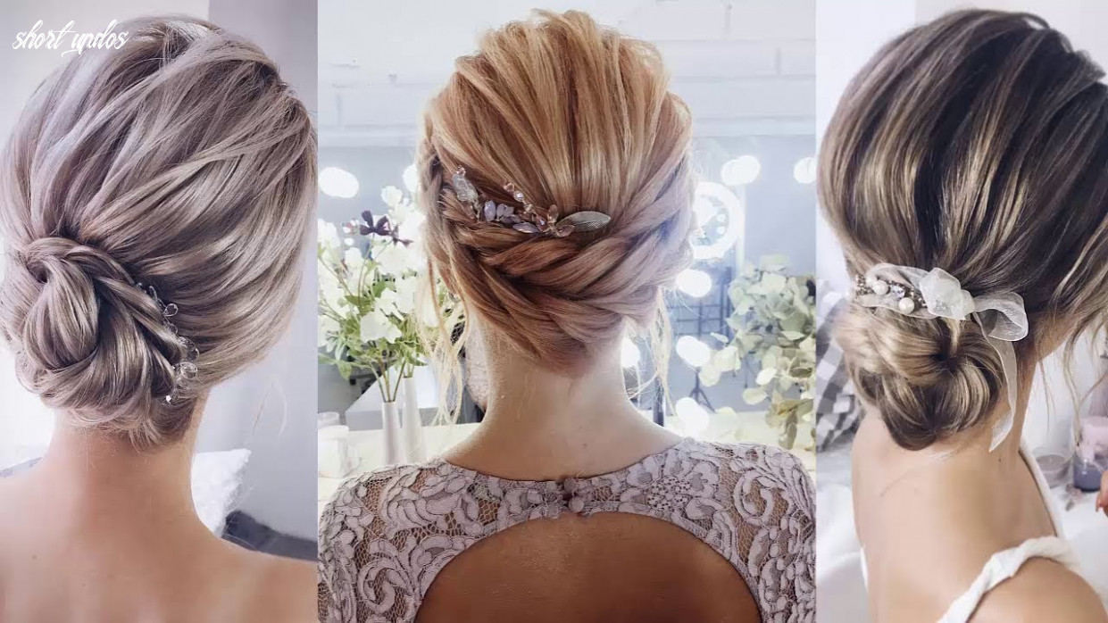 Best Beautiful Bridal Hairstyles 12 for Short Hair - Women ...