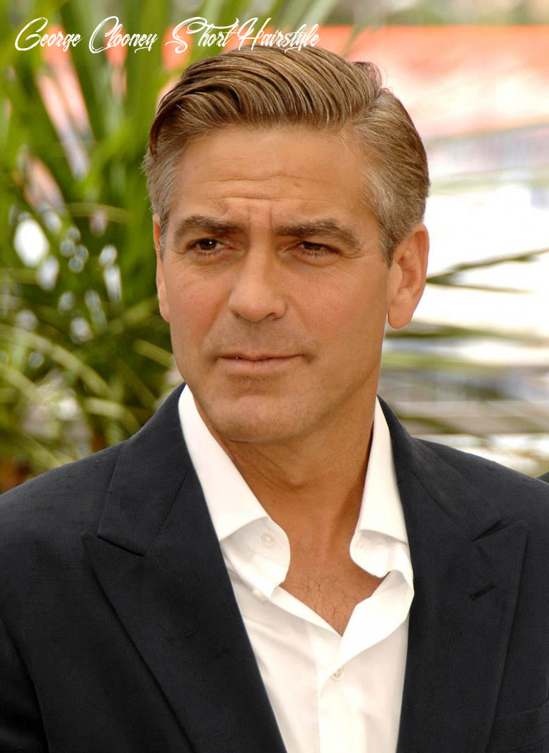 Best george clooney haircuts & hairstyles george clooney short hairstyle