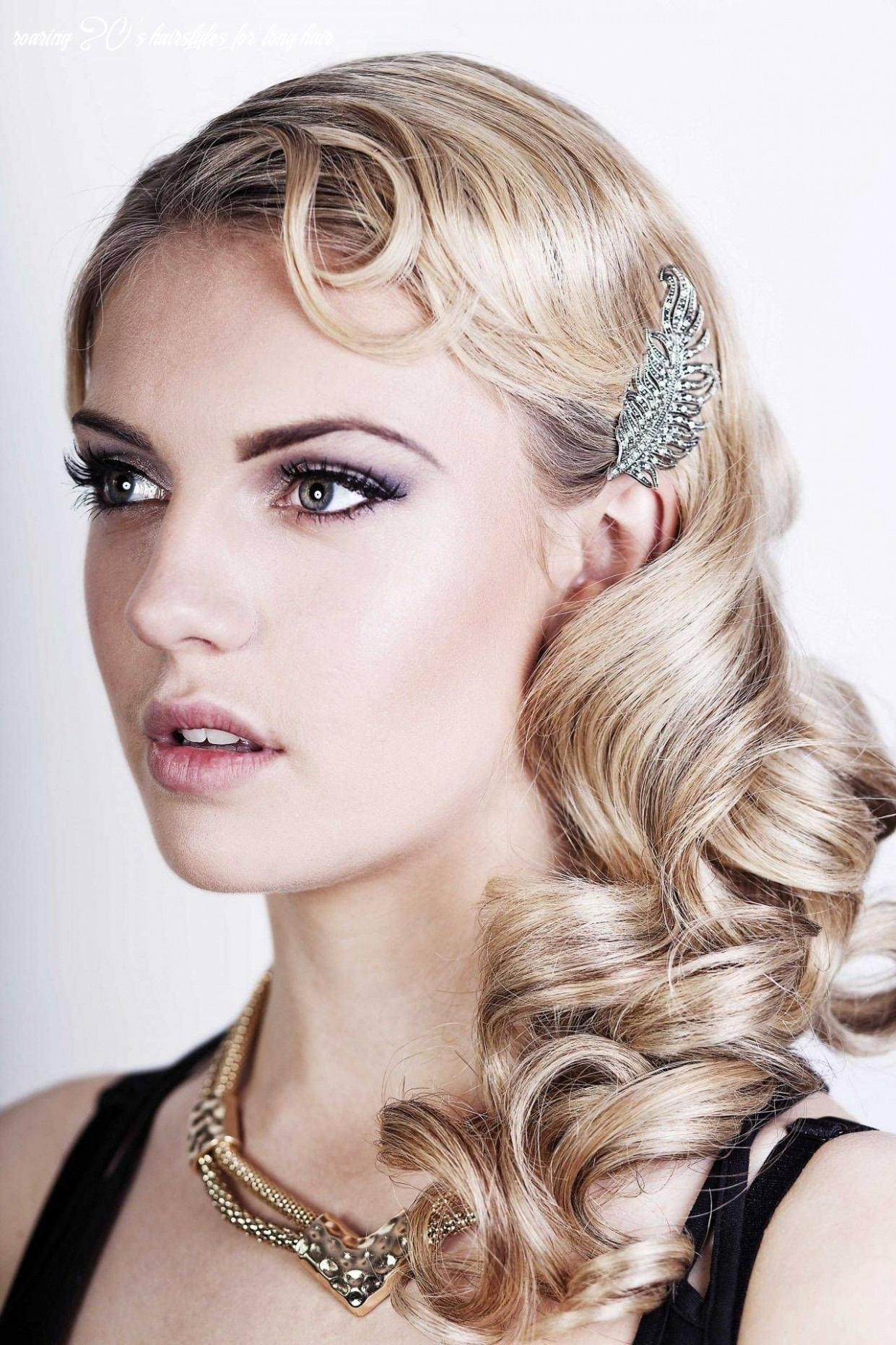 Best great gatsby long (with images) | roaring 9s hairstyles