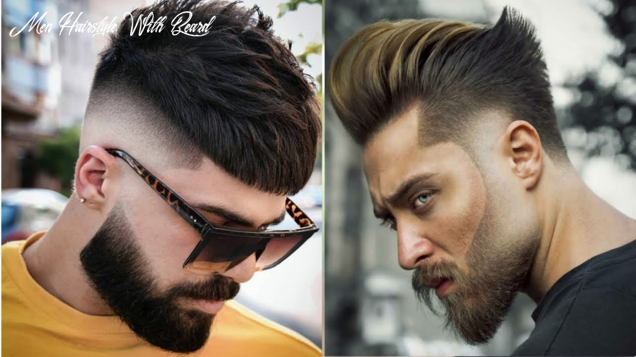 Best Haircuts For Guys 8   Beard with Hairstyles For Men 8   Mens  Trendy Hairstyles