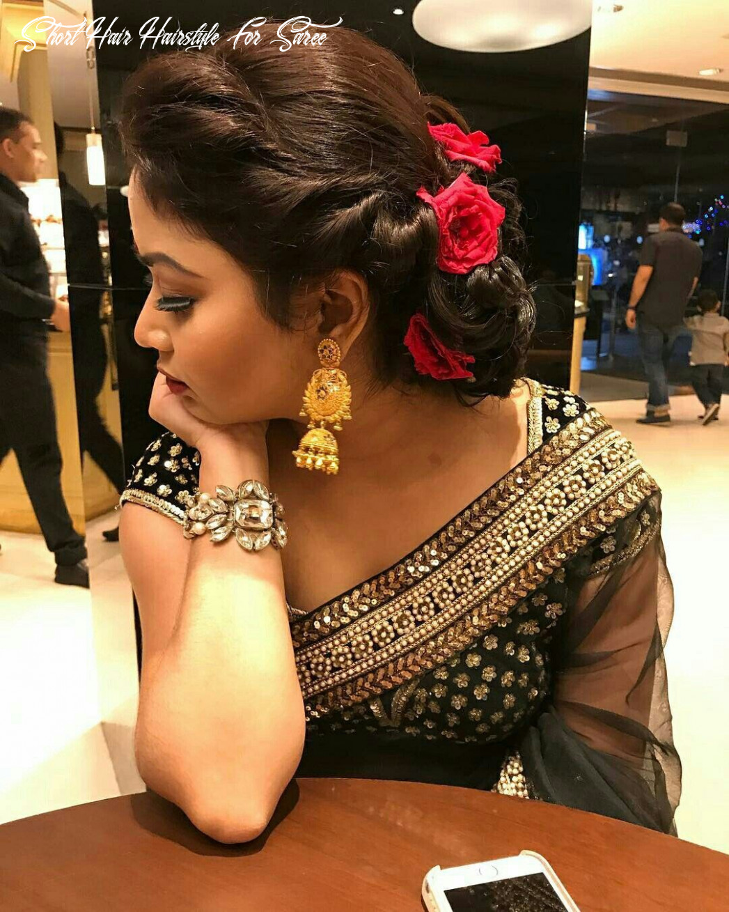 Best hairstyle for thinning hair on top   indian wedding