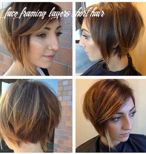 Best hairstyles for short curly hair face framing layers short hair